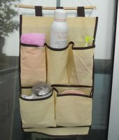 Foldable non woven back the car set trunk hanging storage pockets
