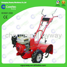 Multi-function 5-12hp gasoline tiller with best parts small soil ploughing machine