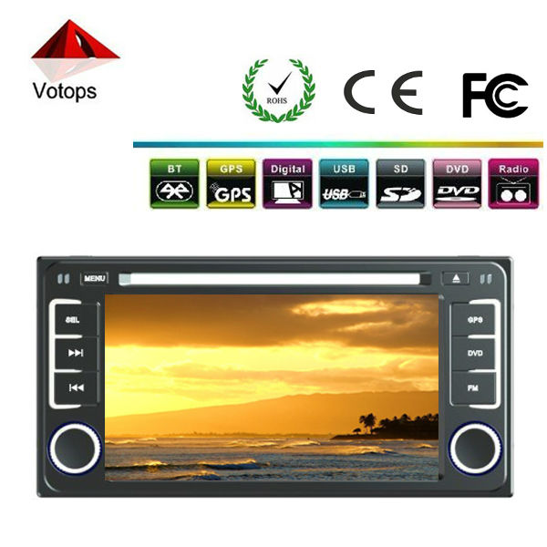 2din dvd for car with bluetooth/GPS/mp3/mp4/car radio