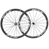 2017 New Chinese Carbon Road Bike Clincher 38mm Wheels With Sapi Cx-ray Spokes Wheel