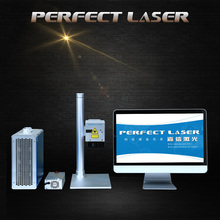 Desktop name plate fiber laser engraver marking machine with less weight