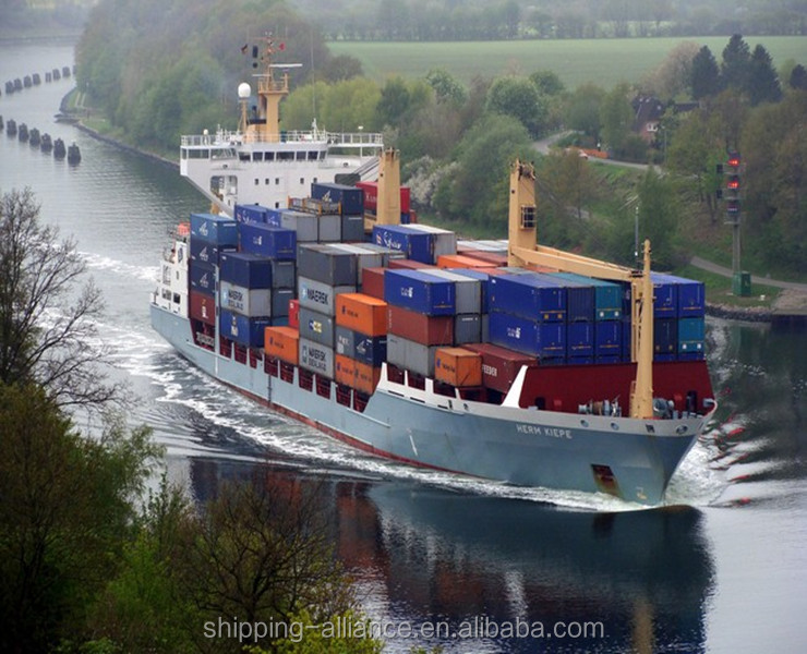 Best Ocean Freight 20' or 40' containers shipping from shenzhen/guangzhou china to Edmonton