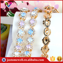 Wholesale Bling Rhinestone Cup Chain Crystal Trimming Banding