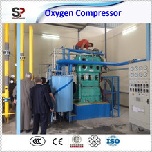 Argon Compressor Transfer Gas for Filling Manifold