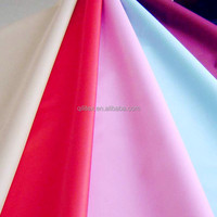 190T woven waterproof silk taffeta fabric