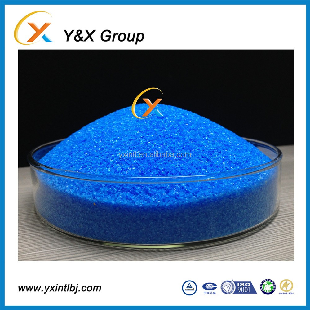 High quality chemical reagent 98% gold price of Cupric sulfate for mining