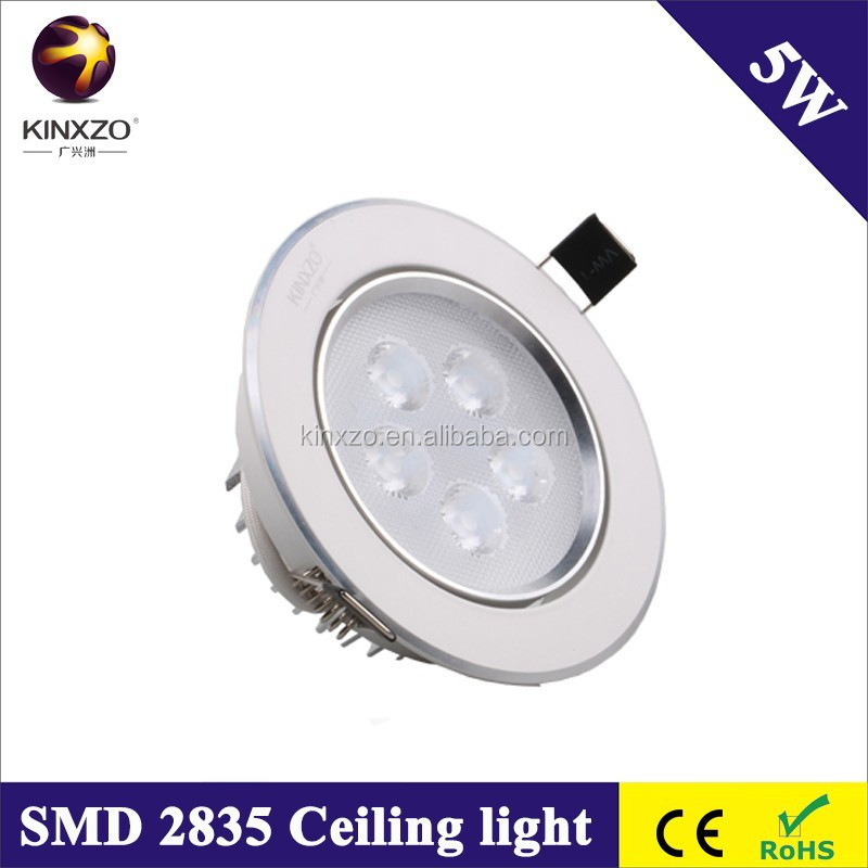 ceiling fittings 5W led 5W spot light 95mm cut hold size