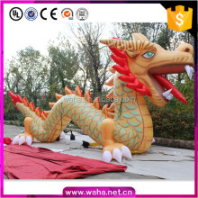 Promotional high quality giant inflatable sea Chinese dragon cartoon characters