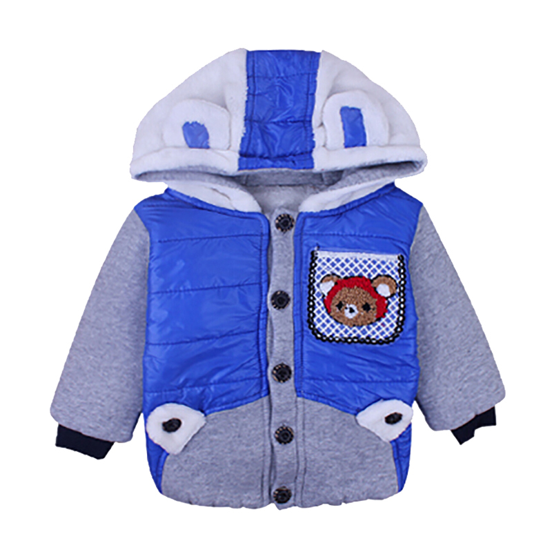 Winter clothes baby out Half tide super warm baby cotton cloths  infant boys snowsuit warm winter for baby casacos