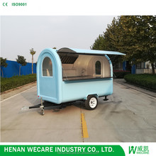 Motorcycle food cart food trailer for BBQ churros fryer sale electric 3 wheel car