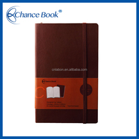 Softcover Brown Notebook With Plain Page
