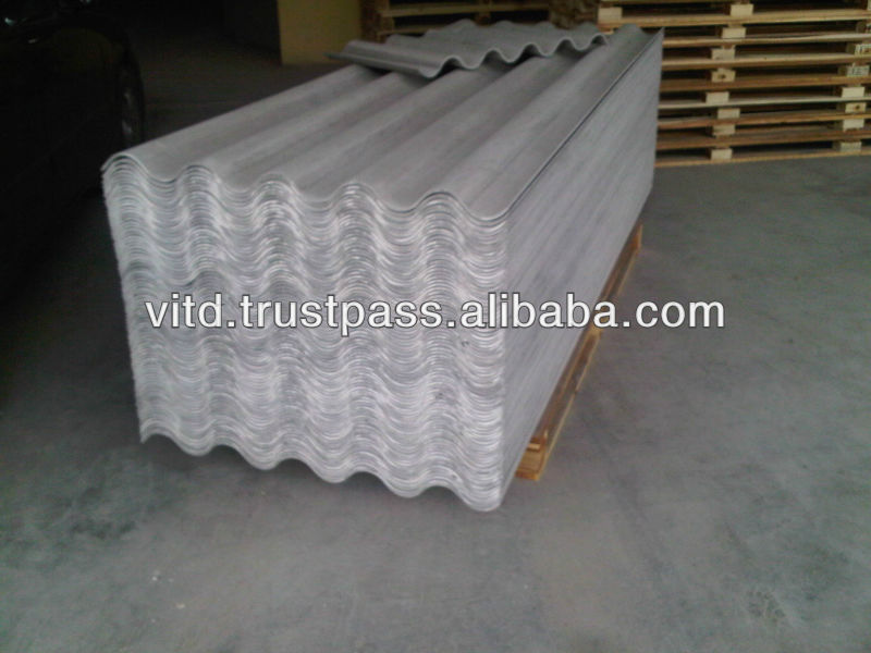 P7, P3 profile cement roofing sheet 100% asbestos free