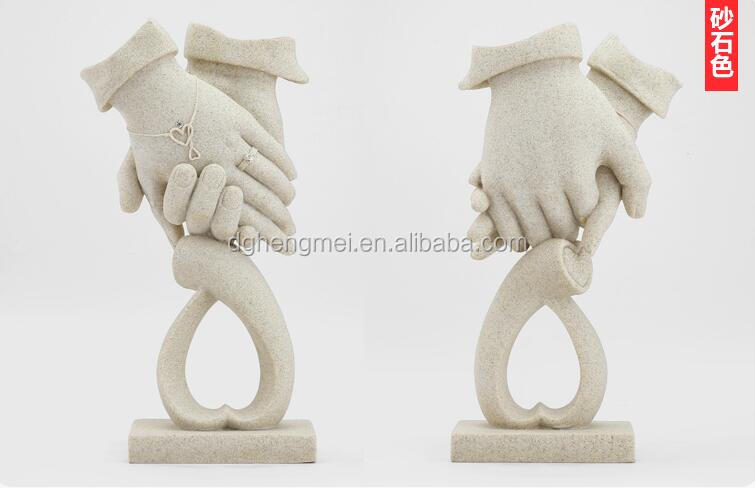 handicraft making sand stone finish craft