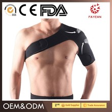 2017 China Fcatory neck and shoulder pain relief shoulder support football shoulder pad for sportsman