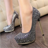china wholesale customer design ladies ankle strap sexy high heel shoes