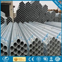 Good quality galvanized steel pipe for greenhouse frame with CE certificate