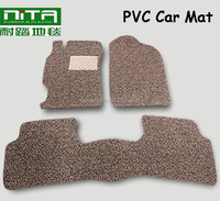 New style colorful soft decorative pvc car mat