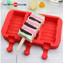 JianMei Brand silicone popsicle mold/Silicone ice lolly moulds/Silicone ice cream pop maker