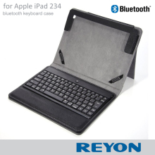 New Wireless Bluetooth 3.0 ABS Keyboard Folio PU Leather Case Cover Magnetic Smart Stand for iPad 2 3 4