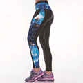 Custom Colourful Fashion Design Patterned Leggings