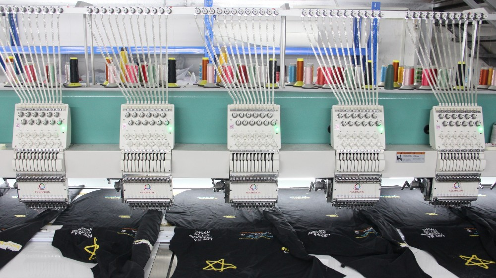 Industry automatic 24 head flat computerized embroidery machine sale Philippines with good price