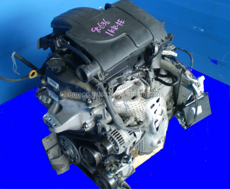 JAPANESE USED CARS ENGINE 1KR-FE (HIGH QUALITY) FOR TOYOTA VITZ, PASSO, IQ, BELTA.