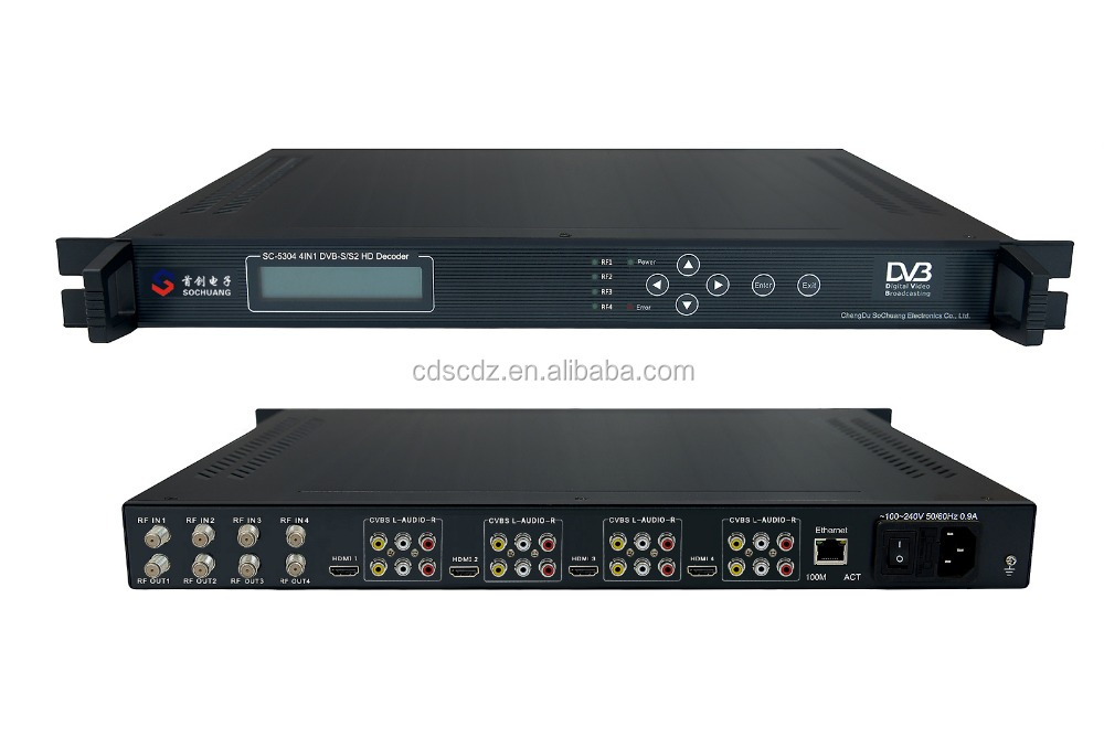 SC-5304 cable tv decoders