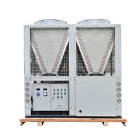 Water chiller air cooled with fan