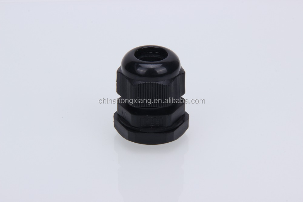 HX black electronic cable gland pg
