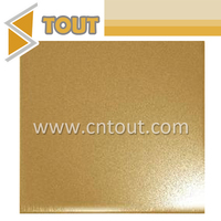201 Gold Color Sand Blasted Decorative Stainless Steel Sheet