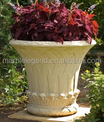 Flower Pot Stone for Marble Flower Pot