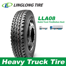 LINGLONG Leao LLA08 pneus neumaticos 11R22.5 315/80R22.5 Sizes Price Tyres Heavy Truck Tires