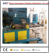 Zipper self-sealing bag sealing and cutting machine