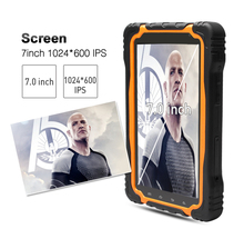MTK65891G+16G 1024*600 IPS 3G GSM GPS NFC Wifi BT CE Android 7inch rugged tablet pc
