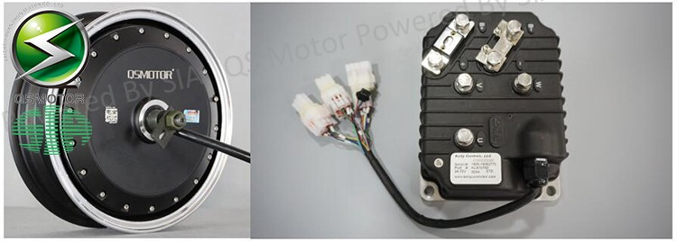 QS Motor 13inch 8000W Electric Motorcycle Kit / E Scooter kit / Electric Scooter Conversion Kits