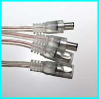 5.5*2.5 mm 20 AWG female to male dc waterproof wire cable