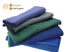 non woven with recycled cotton warehouse pads moving blanket wholesale