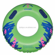 PVC Inflatable water ski tube,cheap inflatable water park ski tube,beautiful swimming ring