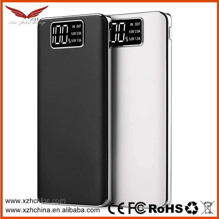 Thin Slim Power Bank 10000mah portable charger external Battery mobile phone charger