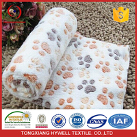 Competitive Price directly 100% polyester printed coral fleece dyed for blankets Coral Fleece