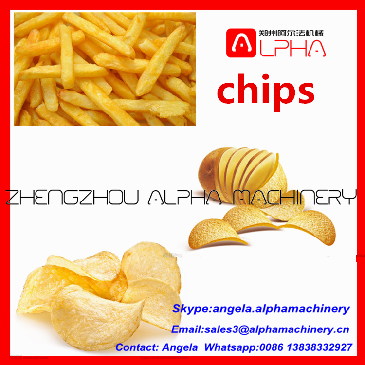 small scale potato chips production line/private label potato chips/ chips potato
