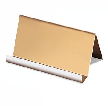 Acrylic Business Card Holder Organizer Stand