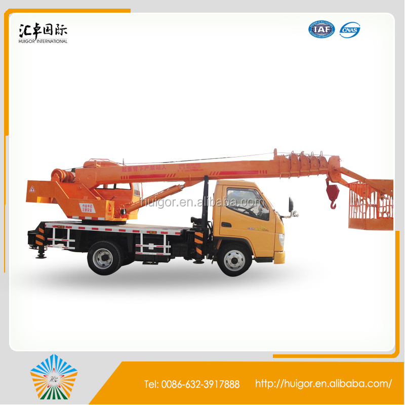 truck mounted crane, truck with crane 7 ton