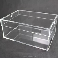 new products shopping clear acrylic cases containers storage boxes