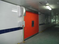 Clean Room High Speed Interior Shutters
