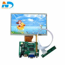 7 inch 800*480 LCD panel with hdmi controller board