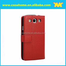 PU Leather Wallet Cover for Samsung Galaxy S3 i9300 case, leather flip cover for xiaomi mi4 m4