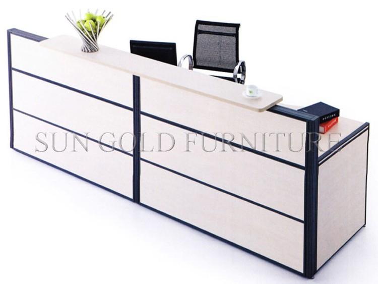 Modern Used Beauty Salon Furniture Reception Desk fice