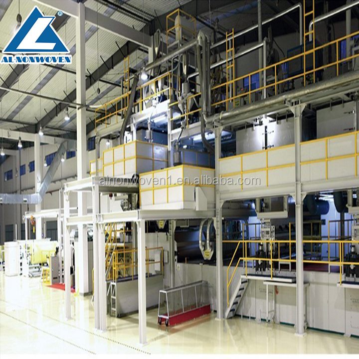 AL-3200MM S PP Spunbonded Nonwoven Fabric Making Machine Production Line From China Manufacturer