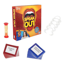 1Set speak out game board game interesting party game for christmas halloween gift